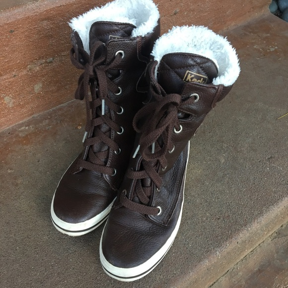 Keds Shoes | Keds Brown Lace Up Boots